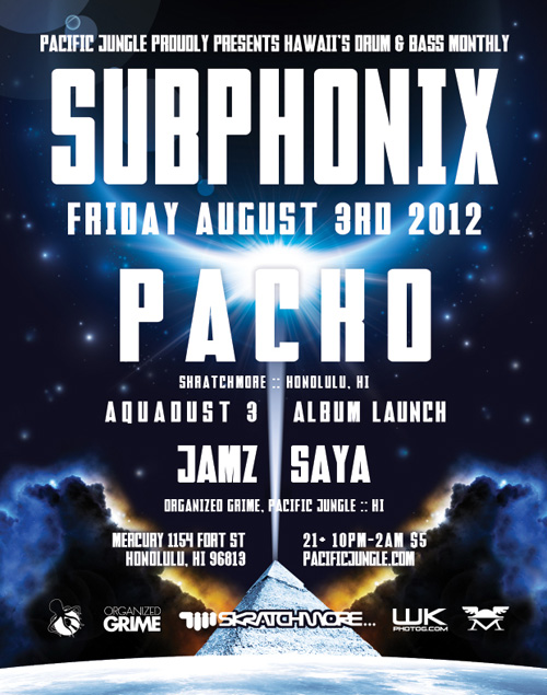 August 2012 Subphonix Flyer