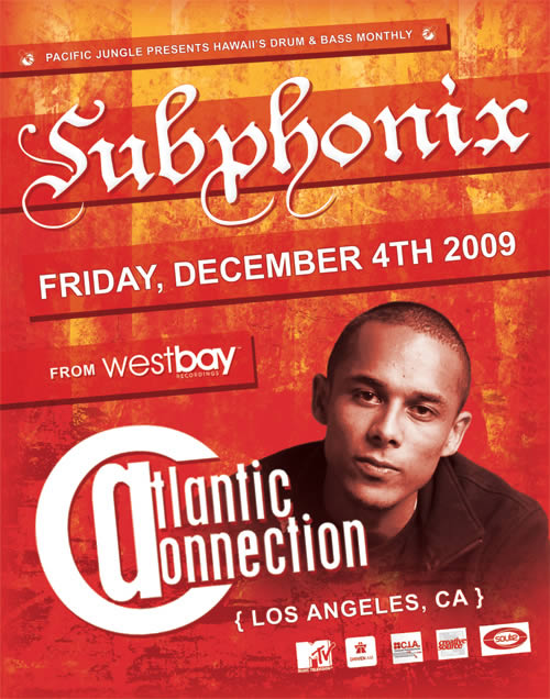 December 2009 Subphonix Flyer Front