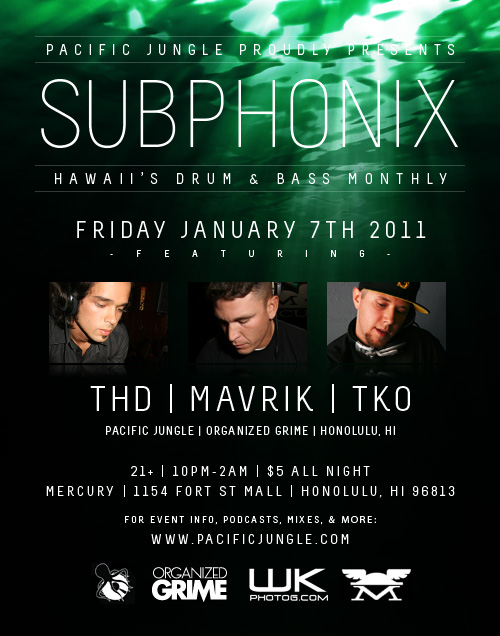 January 2011 Subphonix Flyer