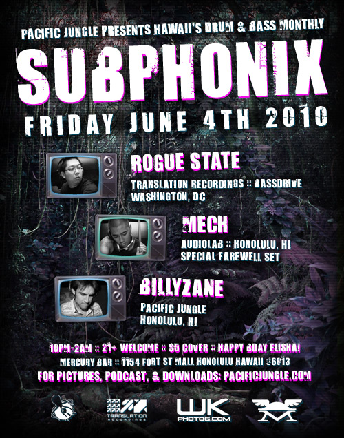 June 2010 Subphonix Flyer
