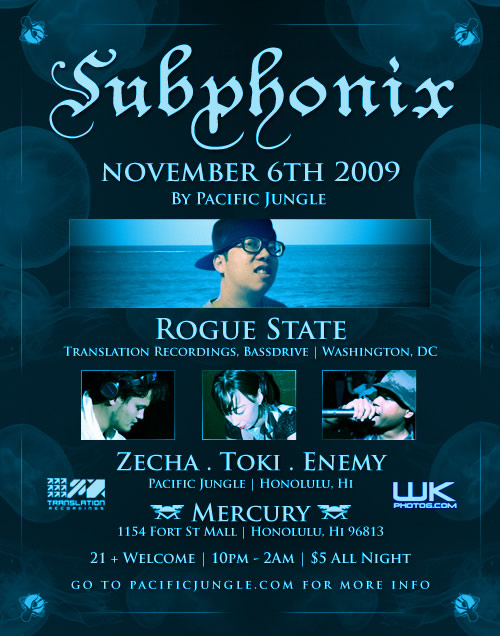 November 2009 Subphonix Flyer