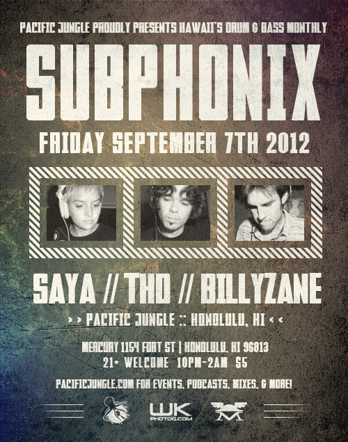 September 2012 Subphonix Flyer